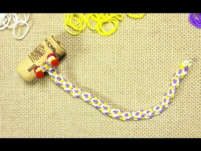 How to Make an Inverted Fishtail Rainbow Loom Bracelet (DIY Tutorial)