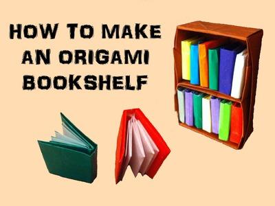 How To Make an Origami Bookshelf