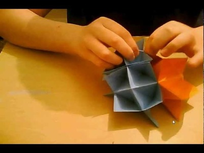 How to make an Origami Spiky Cuboctahedron aka Spike Ball