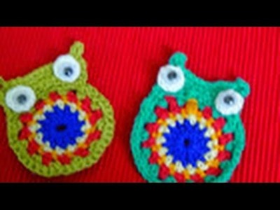 HOW TO MAKE CROCHET OWL-2