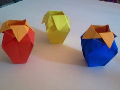 How to make Origami Box