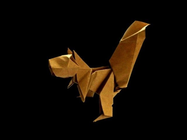 How to make: Origami Squirrel