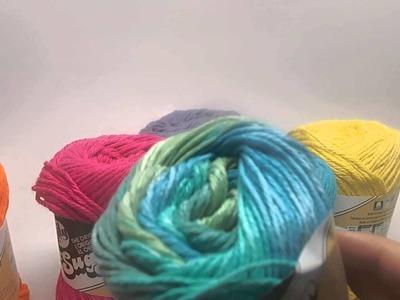 Knitting-Warehouse Yarn Haul and Review - Lily Sugar N Cream Cotton Yarn