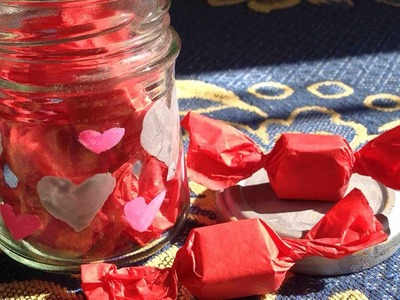 Make a Cute Valentines Day Candy Jar Gift - DIY Crafts - Guidecentral