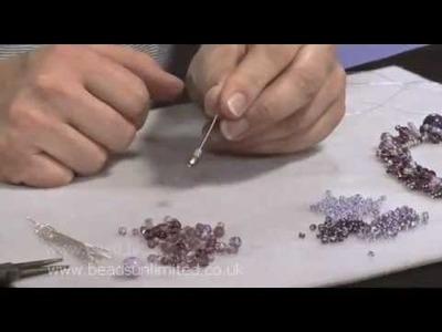 Make an Elegant Elasticated Headpin Necklace