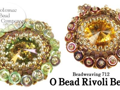 Make an O Bead Rivoli Bezel