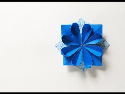Origami Flower Pin