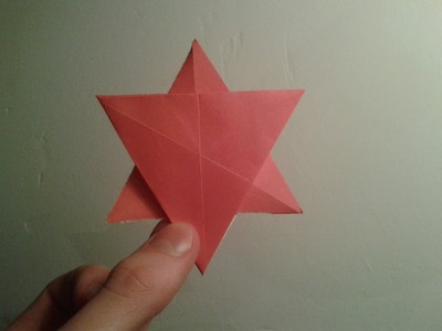 Origami Six Point Star