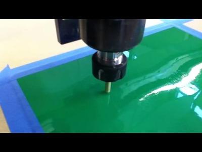 Penland School of Crafts, ShopBot Desktop, CNC Drag Knife Vinyl Cutting 1