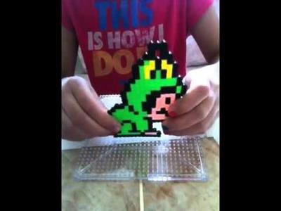 Perler Beads Mario Frog Suit