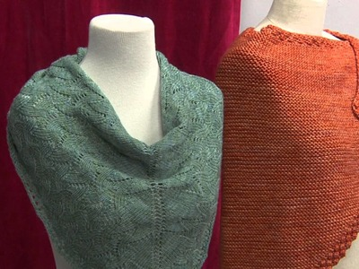 Preview Structure of Shawls with Angela Tong Promo
