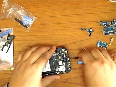 Samsung Galaxy note 2, take apart Tutorial, DIY Video. Step by step.
