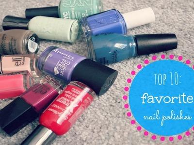 Top 10: Favorite Spring Nail Polishes | Alexa's DIY Life