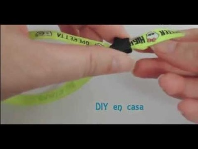 Tutorial DIY pulsera Monster High paso a paso.
