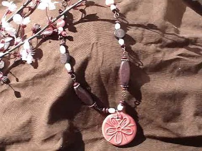 Win this japanese cherry blossom inspired hand made necklace!