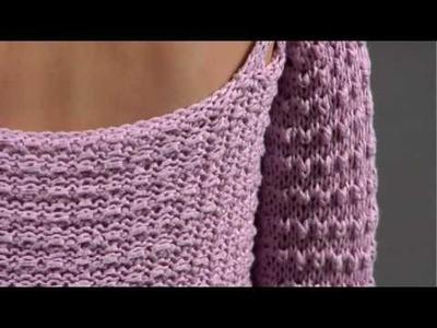 #18 One Button Cardigan, Vogue Knitting Spring.Summer 2009