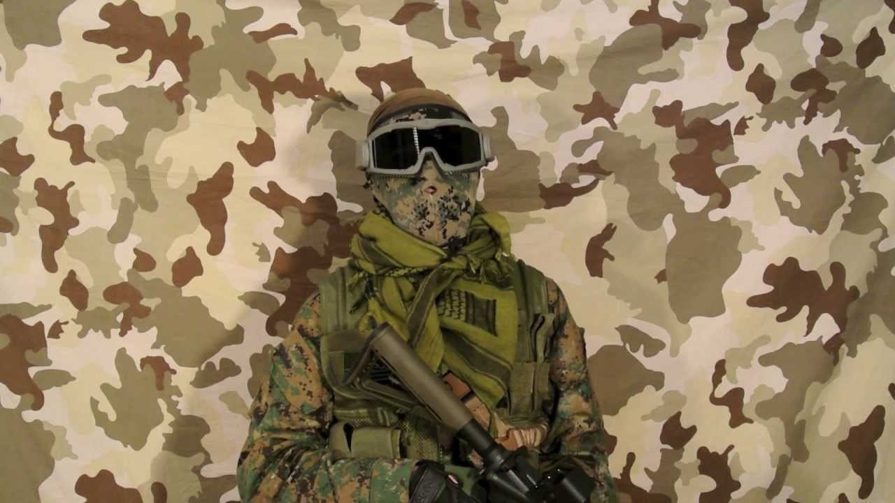 Airsoft How To - Get full face protection without a full face mask