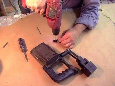 Aliens USCM Colonial Marines SHOULDER LAMP DIY Prop kit tutorial
