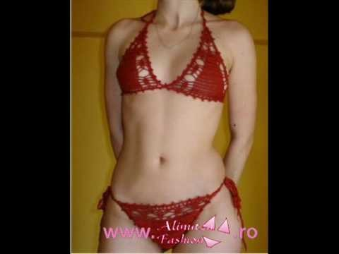 Alinutza Fashion - Crocheted Swimsuits