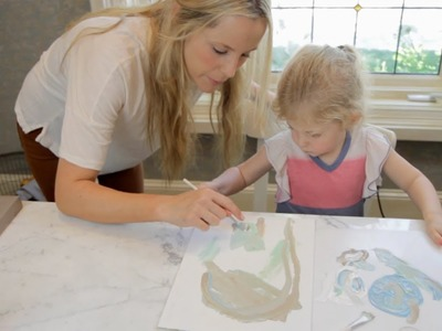 Art Project With Kids - Let's Craft with ModernMom