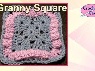 Bellevue Crochet Granny Square Free Crochet Pattern Crochet Geek