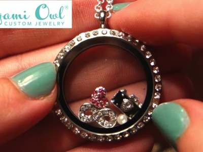 *CLOSED*  Origami Owl Living Locket Review and Giveaway!