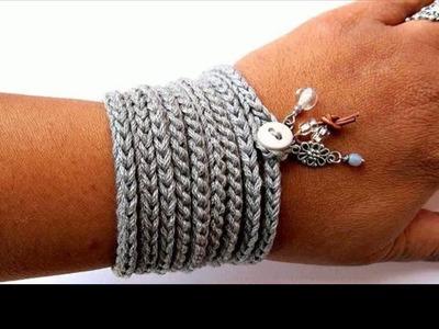 Crochet bracelet for men
