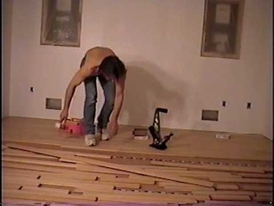 DIY 80 - Flooring started in new bedroom & primer coat on sheetrock