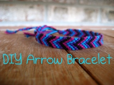 DIY Arrow Bracelet (Tutorial)
