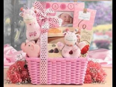 DIY Baby shower gift decor ideas for girls