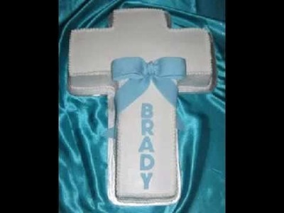 DIY Baptism cake ideas