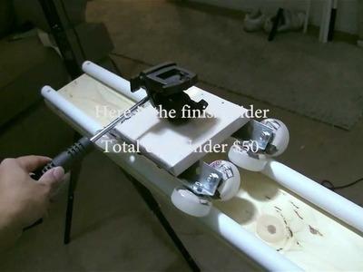 DIY Camera Slider Under $50