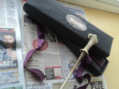 DIY- Easy Harry Potter Wand Box Tutorial