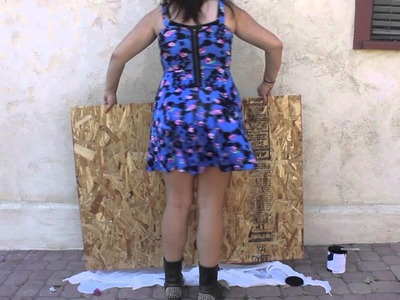DIY. Giant Chalkboard Decor!