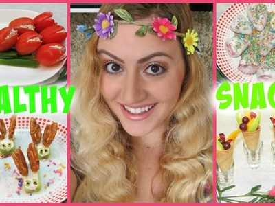 DIY Healthy Spring Snacks for School & Studying Glam Barbie ❤