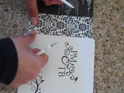 DIY: How to Use Martha Stewart Bone Paper Folder