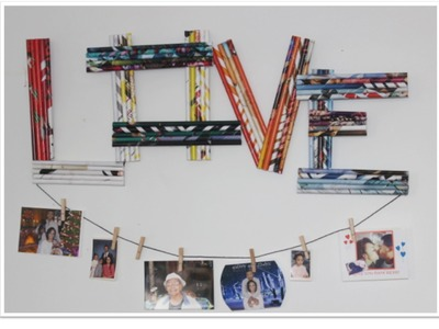 DIY Magazine Wall Art & Picture Holder!!