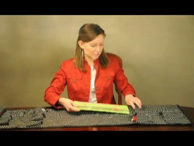 DIY organization_Chair Caddy from Fabric