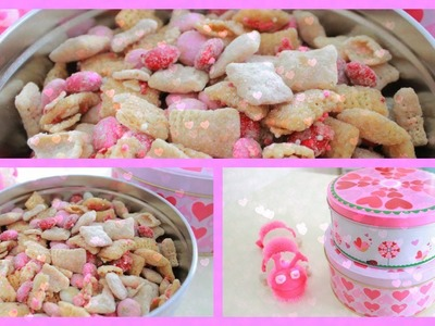 DIY Quick & Easy Valentine's Day Treat ~ Valentine's Day Party Mix