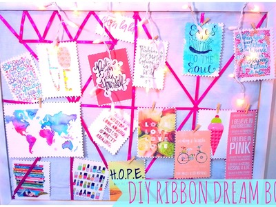♥ DIY Ribbon Dream.Inspiration Board- #MakeitinMay ♥