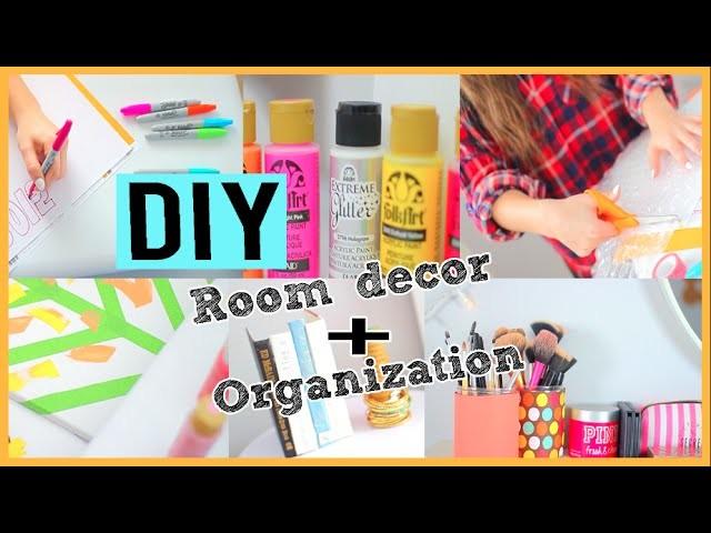 DIY Room Decor + Organization For 2015!