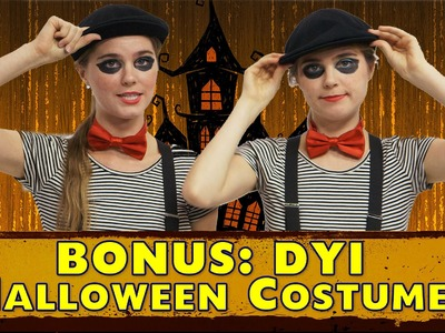 Easy Homemade Halloween Costumes - DIY Nina and Randa Nelson