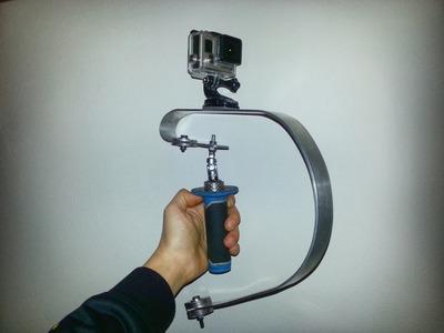 Homemade Steadicam GoPro Tutorial (DIY). Steadicam Fai da Te per GoPro