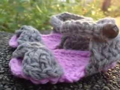 How to Crochet Baby Sandals