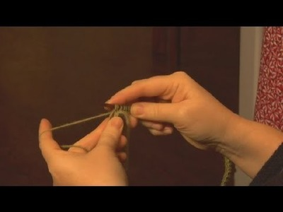 How to Knit a Continuous Scarf : Knitting a Scarf