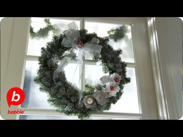 How to Make a Christmas Wreath with Coffee Filters | Crafts | Babble