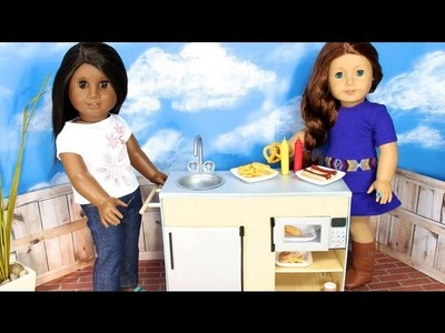 How to Make a Doll Snack Cart - Doll Crafts