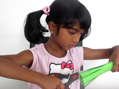 How to make a paper tree (Kids crafts from Kids)