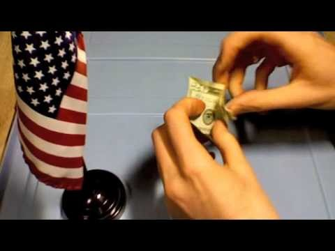 How To Make A Swan from a Dollar Bill for Someone Special