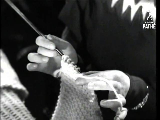 How To Make A Woven Blanket - Feminine Pictorialities No. 3 - Woollies (1934)